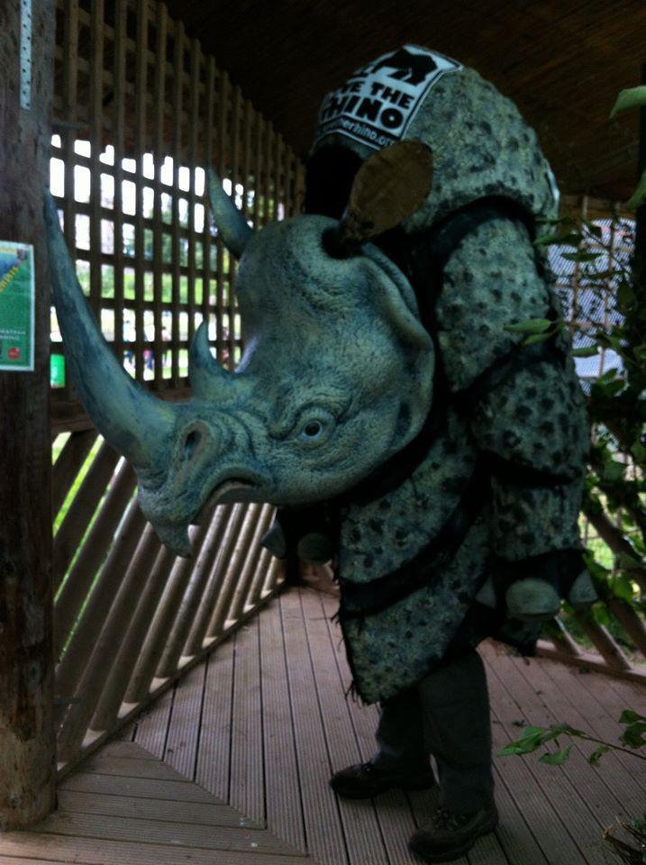 Meet Robert The Rhino