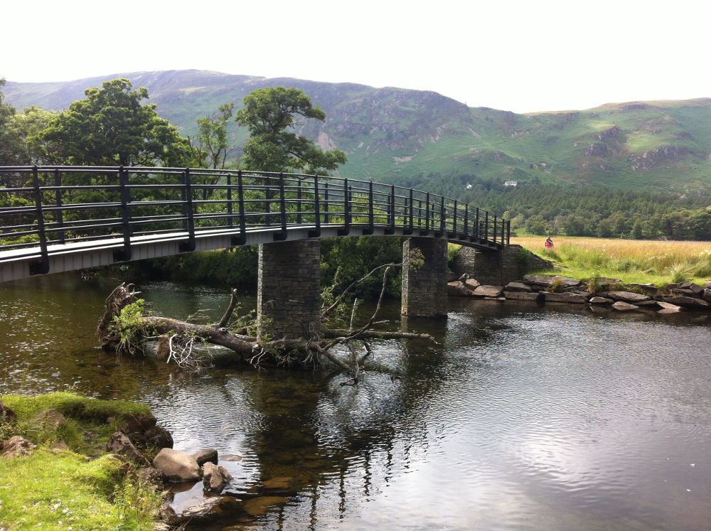 The bridge that was the inspiration for Pooh Sticks by Winnie the Pooh