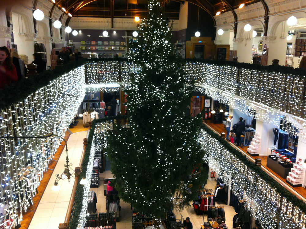 Jenners looking suitably festive