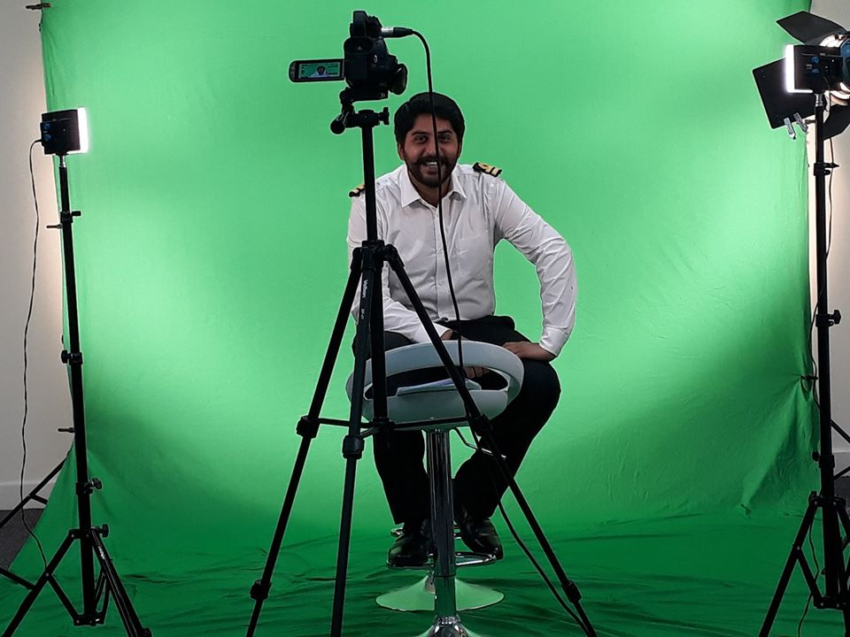 Shuja Working With Me On The Appraisal Film