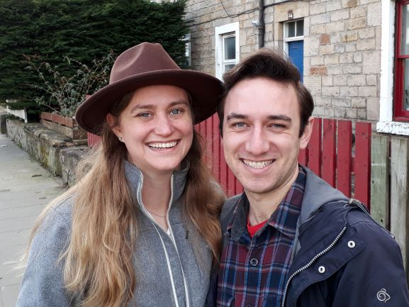 Smiles Nos. 219-220 - Peter And Kelli Originally From Kansas USA Now Happily Settled And Working In Leith, Edinburgh