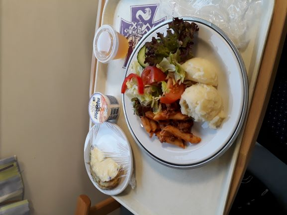 Delicious Fresh And Healthy Hospital Food