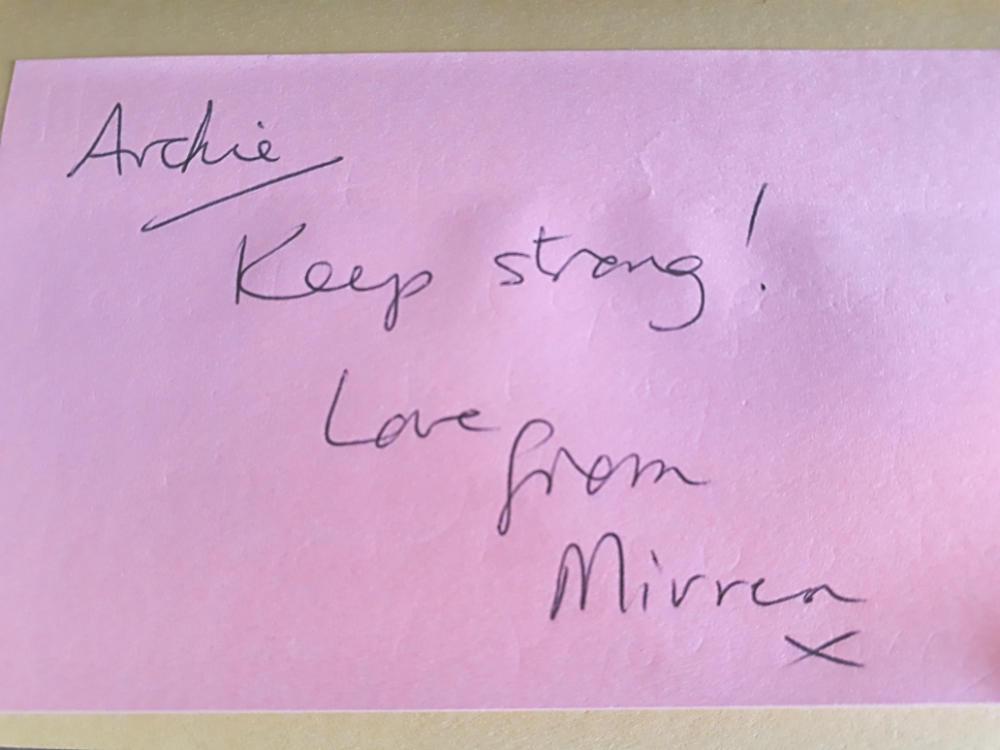 Mirrens Wonderful Message